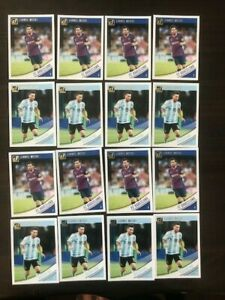 2018-19 Donruss Base Set #1 & #88 Lionel Messi - FC Barcelona ~ Lot of 16