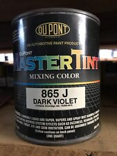 Dupont 865J Dark Violet Quart Paint Tint