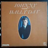 Trés Rare LP 33T Johnny Chante Hallyday Pochette Carton 1965 – B 77 746 L  (TBE)