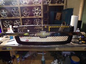 ☼2003-2005 CHEVY SILVERADO 1500 2500 3500 *BLUE* FRONT FACTORY GRILLE OEM
