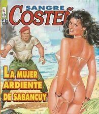 SANGRE COSTEÑA MEXICAN COMIC #54 MEXICO SPANISH SPICY HISTORIETA 1997