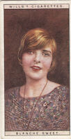 Miss Sarah Blanche Sweet Actress USA IMAGE OLD CARD