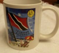 Vintage Trinidad and Tobago Coffee Mug (logo on both sides)