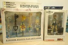 Kingdom Hearts 3 Roxas Play Arts Arms Square Enix Disney Keyblade Action Figure