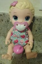 BABY ALIVE SIPPY CUP BOTTLE & CUTE PINK HEART PACIFIER  REAL SURPRISES , LILY