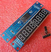 10PCS MAX7219 EWG 8-Digit Digital Tube Display Control Module Red for arduino