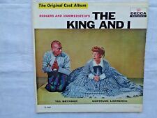 The King And I The Original Cast Album 1953 Decca DL-9008 Gloversville Press VG+