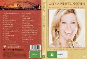 DVD OLIVIA NEWTON JOHN LIVE AT THE SYDNEY OPERA HOUSE 2008 BRAND NEW UNSEALED