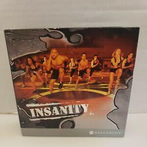 Beachbody INSANITY  2010 DVD Set Shaun T COMPLETE All Discs Beach body