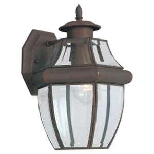 Sea Gull Lighting Single-Light Lancaster Bronze Wall Lantern - 8038-71