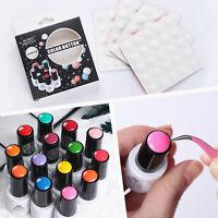 BORN PRETTY Color Button UV Gel Polish Color Display Silicone Adhesive Paster