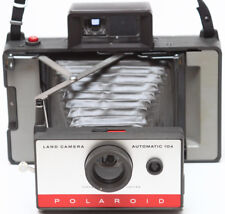 Polaroid 104 Instant Film Folding Camera Made in USA 1960s Fully Operational