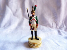 Soldat de plomb - Dragon de ligne monté sur socle (hauteur 10 cm).