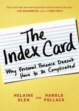 The Index Card: Why Personal Finance Doesn't Have to Be Complicated by Helaine O