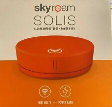 Skyroam Solis Global WIFI Roaming Hotspot 4G LTE, No Contract, incl 1GB Plan