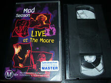 Mad Season Live At The Moore Australian PAL VHS Video