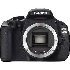 Canon EOS 600D / Rebel T3i 18.0MP Digital SLR Camera - Black (Body Only)
