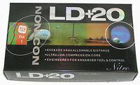 1 Dozen Nitro LD+20 ILLEGAL Distance Golf Ball EXCEEDS USGA Standard LOT 8G031