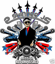 2 Skinnee J's Mission Accomplished Reunion 2008 Tour Poster NEW 2SJ Stumpy 18x24