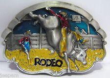 RODEO Chevaucheur de taureaux boucle ceinture pays cowboy danse en ligne 3D