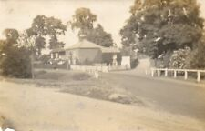 Unknown Location Two Houses on Country Lane Real Photo Postcard (104UH)