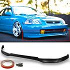 Fits 96-98 Honda Civic 2dr 3dr 4dr Jdm Polyurethane T-r Style Front Bumper Lip