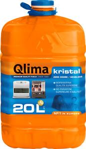 Combustibile liquido stufe, tanica Qlima Kristal da 20 lt, INODORE qualità top