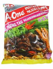 (5,88€/1kg) A-One [ 30x 85g ] Instant Nudelsuppe [ Sojabohnengeschmack ]