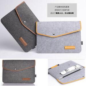 Woolen Felt 11 12 13 15 inch Laptop Sleeve Bag Case For HP IBM MacBook Air Pro