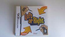 left or right nintendo ds in italiano con manuale per 3ds 2ds dsi ds lite dsxl