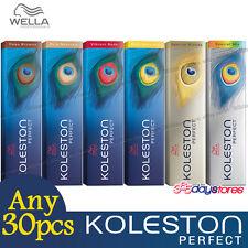 Any 30pcs - Wella Koleston Perfect Permanent Hair Color Dye 60g