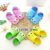 Kids Toddler Cute Caterpillar Cartoon Clog Water Beach Sandal Slipper Sole Shoes