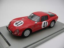 1/18 scale Tecnomodel Alfa Romeo TZ2 Le Mans 24h 1965 car #41 - TM18-65B