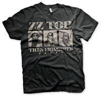 ZZ Top Tres Hombres 1973 Album Blues Rock Band Musik Tour Männer Men T-Shirt
