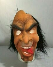 Vintage Topstone Rubber Halloween Costume Scary Creepy Mask