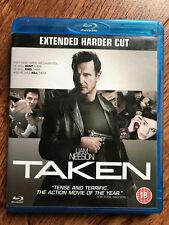 Liam Neeson Famke Janssen TAKEN ~ 2008 Action Thriller Extended UK Blu-ray