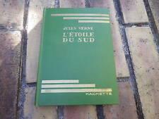 L'ETOILE DU SUD JULES VERNE BIBLIOTHEQUE VERTE 1937 très bon état.
