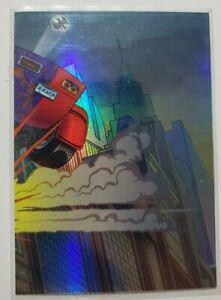 DC Comics Batman The Legend Batmobile FOIL CHASE CARD BM9