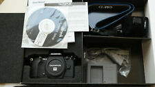 Olympus OM-D E-M5 II Systemkamera - Schwarz  - 12 Monate Gewährleistung