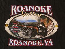 Harley-Davidson T-Shirt Short Sleeve ROANOKE VALLEY HD Black  MENS SIZE 3XL