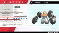 Pokémon Épée et Bouclier Melmetal shiny max iv 6iv ⚔️+MASTER BALL