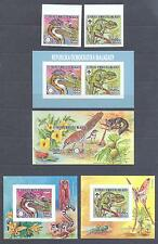 MALAGASY 1988, Butterflies, Rotary, imperf. set of 2+4SS, MNH**(75)
