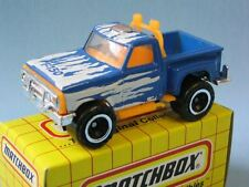 MATCHBOX FORD flareside PICK UP CON BLU CORPO IN GIALLO BOX GRIGLIA