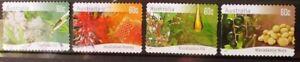 Australia 2011 Farming Native Plants 4 P&S stamps good used