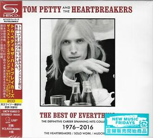 TOM PETTY THE BEST OF EVERYTHING JAPAN 2019 RMST 2CD MLPS - NEW/FACTORY SEALED!