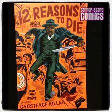 12 Reasons to Die GHOST VARIANT Ghostface Killah WU-TANG Black Mask Comic NM!