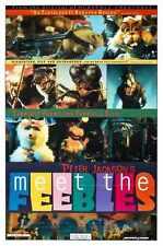 Meet The Feebles Poster 01 Metal Sign A4 12x8 Aluminium
