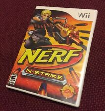 Nerf N Strike Game Only For Wii Shooter With Manual And Case