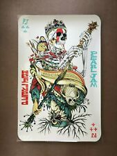 Tyler Stout Pearl Jam Werchter Belgium Jeff Soto two sided poster gig print art
