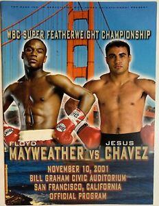 Floyd Mayweather vs Jesus Chavez BOXING program Fight Manny Pacquiao v Sanchez
